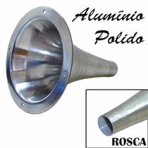 Cone Longo Alumínio Polido Fiamon