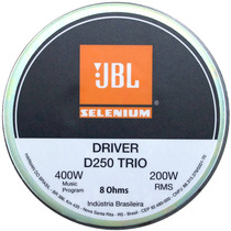 Driver Selenium D250trio 200w D 250 Trio + P R O M O Ç Ã O +