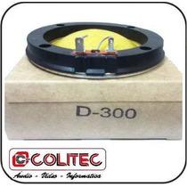 Reparo Paralelo D Driver D-305 / D-300 ( Fenolico ) Completo