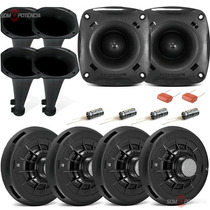 Kit 04 Driver D200 + 02 Tweeter St200 Jbl Selenium Original