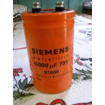 1 Capacitor Eletrolítico Giga 10000uf X 70v