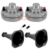 Kit Cornetera 02 Driver Jbl D250x + Boca + Capacitores
