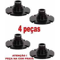 4 Adaptadores,flange Rosca Externa,jarrão P/driver Alumínio