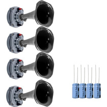 Kit 4 Driver Selenium D250x + 4 Corneta + Capacitor + Brinde