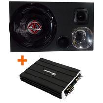 Caixa Som Trio Bomber Upgrade 350w + St200+ D250x + Modulo