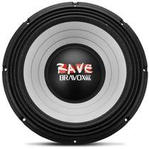 Woofer Bravox Rave 15 Polegada 1100w Rms Alto Falante Som Rv