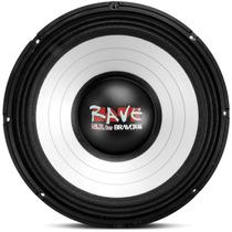 Falante 15 2500w Rms Bravox Rave Woofer Medio Grave Trio Som