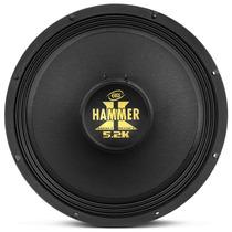 Woofer Eros Hammer 15 2600w 5.2k Medio Grave Falante Black