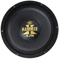 Woofer Eros Hammer 4.7k 12 Polegadas 2350w Rms Alto Falante