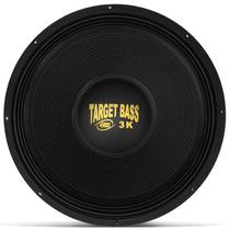 Alto Falante Subwoofer Eros 18 Pol 1500w Rms 3k Target Bass
