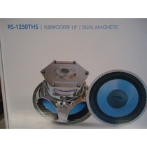 Subwoofer 12 Roadstar Rs-1250ths 4+4ohms Bobina Dupla 300rms
