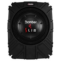 Caixa Selada Amplificada Bomber Slim - Subwoofer 10 Pol 175w