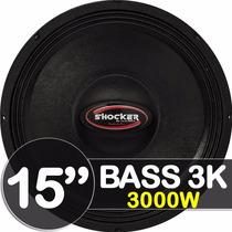 Woofer 15 Ultravox Linha Shocker Bass 3k 3000 Rms 4 Ohms Som