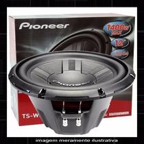 Subwoofer Pioneer Ts-w311d4 12 Polegadas Dvc 1400w 4ohm