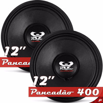 Kit Com 2 Pancadão 400 Ultravox 12 Pol. 400w 4 Ohms Woofers