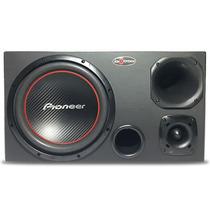 Caixa Trio 12 Subwoofer Pioneer 300w Rms + Driver Selenium