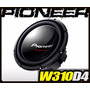 Auto Falante Subwoofer Pioneer Ts-w310d4 Series 1400w 400rms