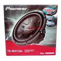 Subwoofer Pioneer Ts-w310 1400w 400wrms 12 Polegadas