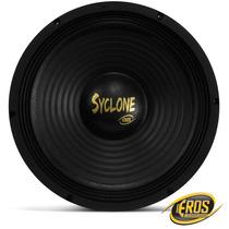 Woofer Eros Syclone 12 Polegadas 250w Rms Medio Grave Trio