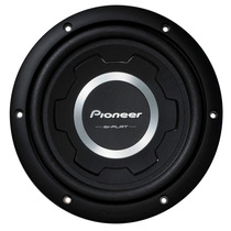 Auto Falante Sub Woofer Pioneer Ts W2502s4 Slim 10 1200w