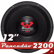 Woofer 12 Ultravox Pancadão 2200 2k2 2200w Rms 4 Ohms Som