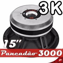 Alto Falante Pancadão 3k Woofer 15 Ultravox Af-3015 3000 Rms