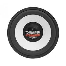 Subwoofer Tomahawk 15 Strondum 1400w Rms Bobina Dupla 4 Ohms