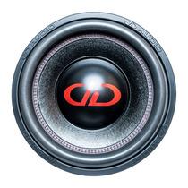 Subwoofer Digital Design Dd 212 Red Line 300w Rms 4 Ohms