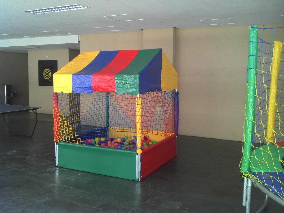Aluguel de cama el stica piscina de bolinha tobog for Piscina zona norte avila