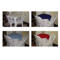 Locação Aluguel Mesas Cadeiras Cobre Manchas Capas Toalhas