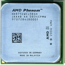 Processador Phenom X3 8750z 2.4 Ghz Am2 Otimo P/ Pc Gamer!!