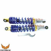 Amortecedor Traseiro Honda Biz 100/125 Azul 1 Par