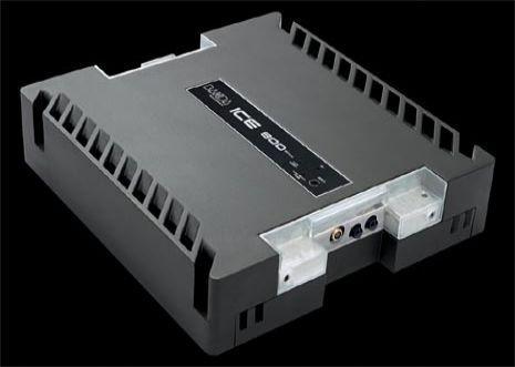 Amplificador Banda Ice 800w Rms - 1 Canal Mono - Modelo Novo