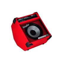 Cubo Amplificador Contra Baixo 90 Watts Slap 90 Vermelho