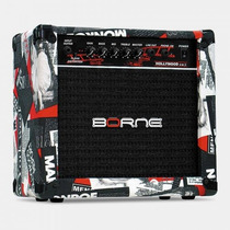 Amplificador Guitarra Cubo Borne Strike G70 + Brindes Fender