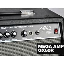 Cubo Amplificador P/ Guitarra Mega Amp Gx-60r