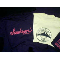 Camiseta Jackson Ibanez Pearl Esp Fender