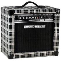 Amplificador Sound Maker B20 20w Para Contrabaixo
