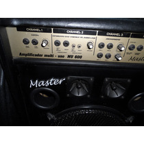 Caixa Amplificada Multiuso Master Mu 600 Troco