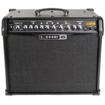 Cubo Amplificador Guitarra Line6 Spider Iv 75w C/ Efeitos