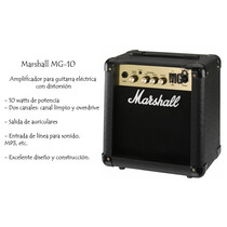 Amplificador Cubo Marshall Mg 10