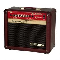 Amplificador Violão Meteoro Acoustic V40 Na Cheiro De Música