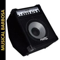 Cubo Amplificador Contra Baixo 100 W Af12 Master Audio Bx100