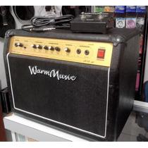 Amplificador Para Guitarra Warm Music 208gt 60w Com Foot