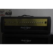 Amplificador E Caixa Warm Music Midnight Head 412a/r 300watt