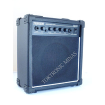 Caixa Guitarra Cubo 15 Wats Overdrive Falante 6,5 Topsom