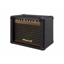 Cubo Para Guitarra Oneal Ocg-100f Pt (caixa + Pedal) 30w Rms