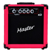 Master Audio Gt-15 Cubo Guitarra 15w Rosa - Frete Grátis