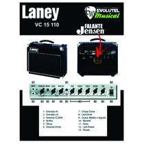 Amplificador Valvulado Laney Vc15110 -15 Watts Rms-f/ Jensen