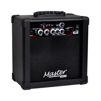 Master Audio Gt-15 Usb Cubo Guitarra 15w Bk - Frete Grátis